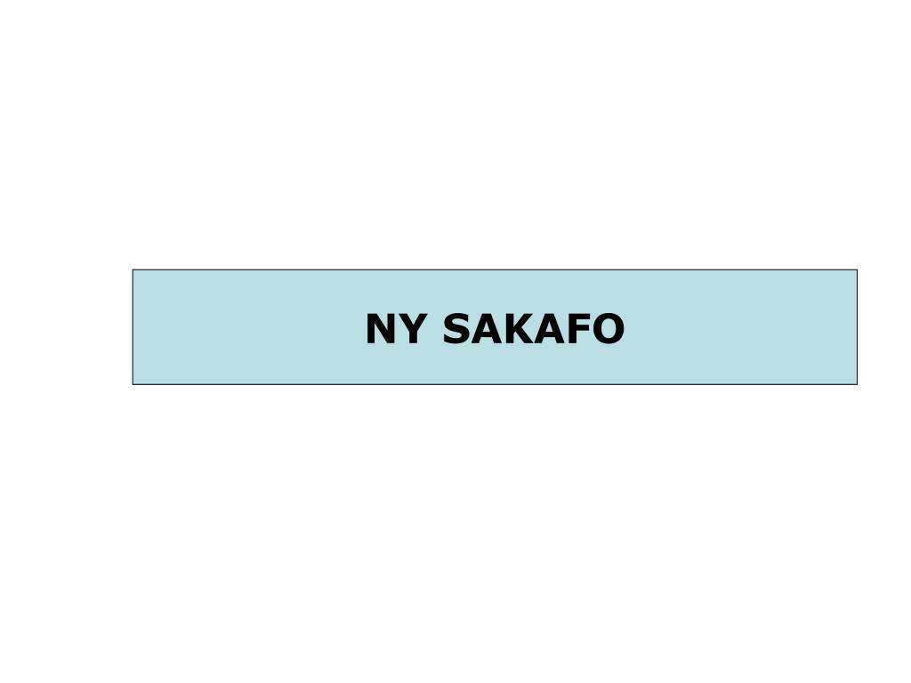 NY SAKAFO