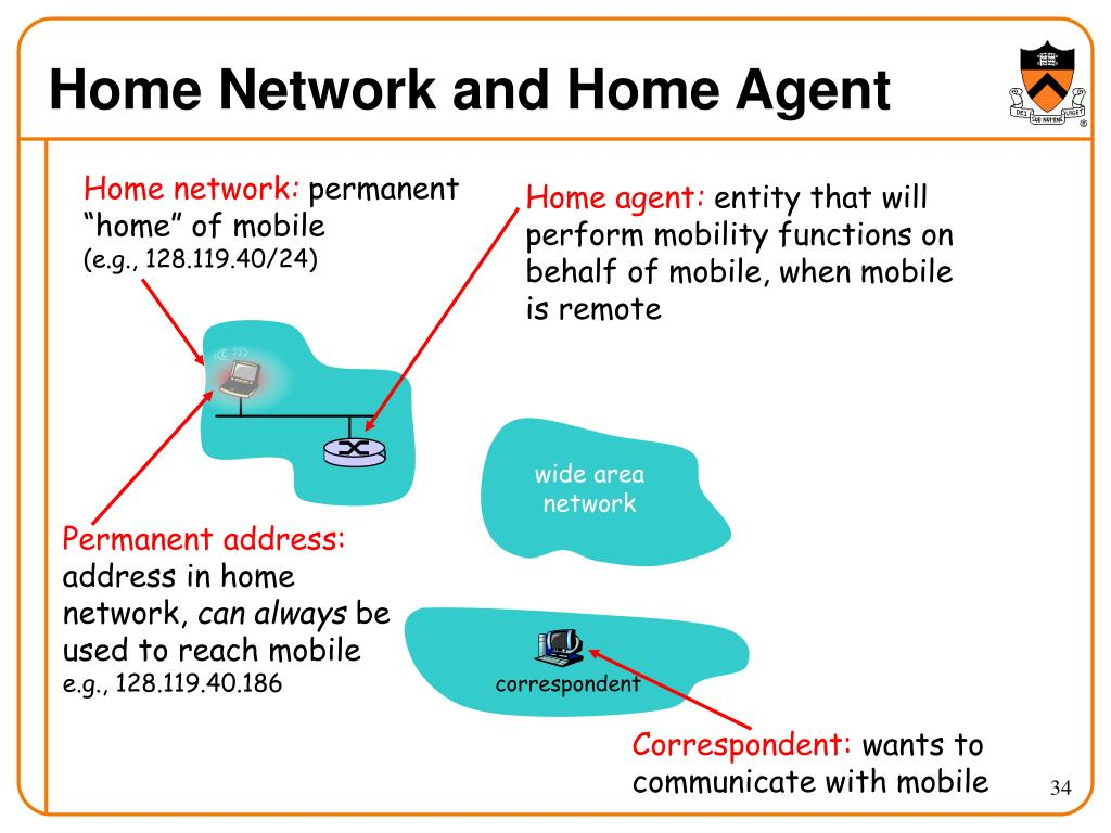 Home Network and Home Agent