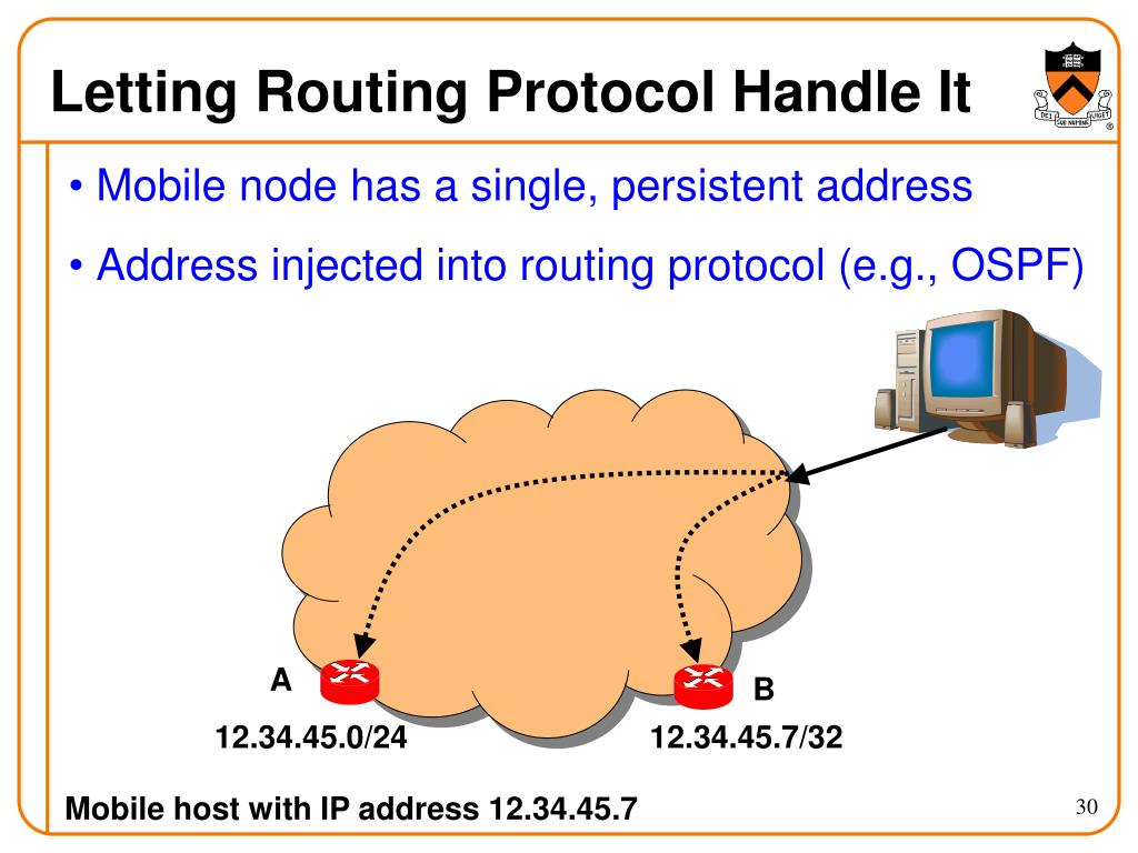 Letting Routing Protocol Handle It