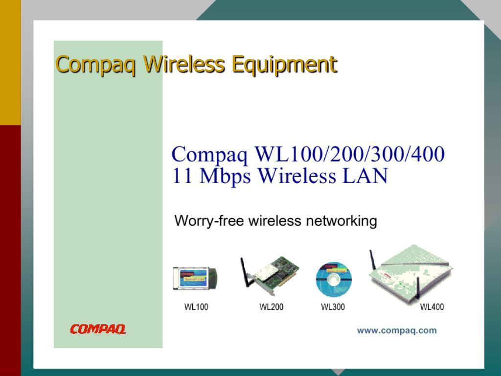 Compaq Wireless Equipment