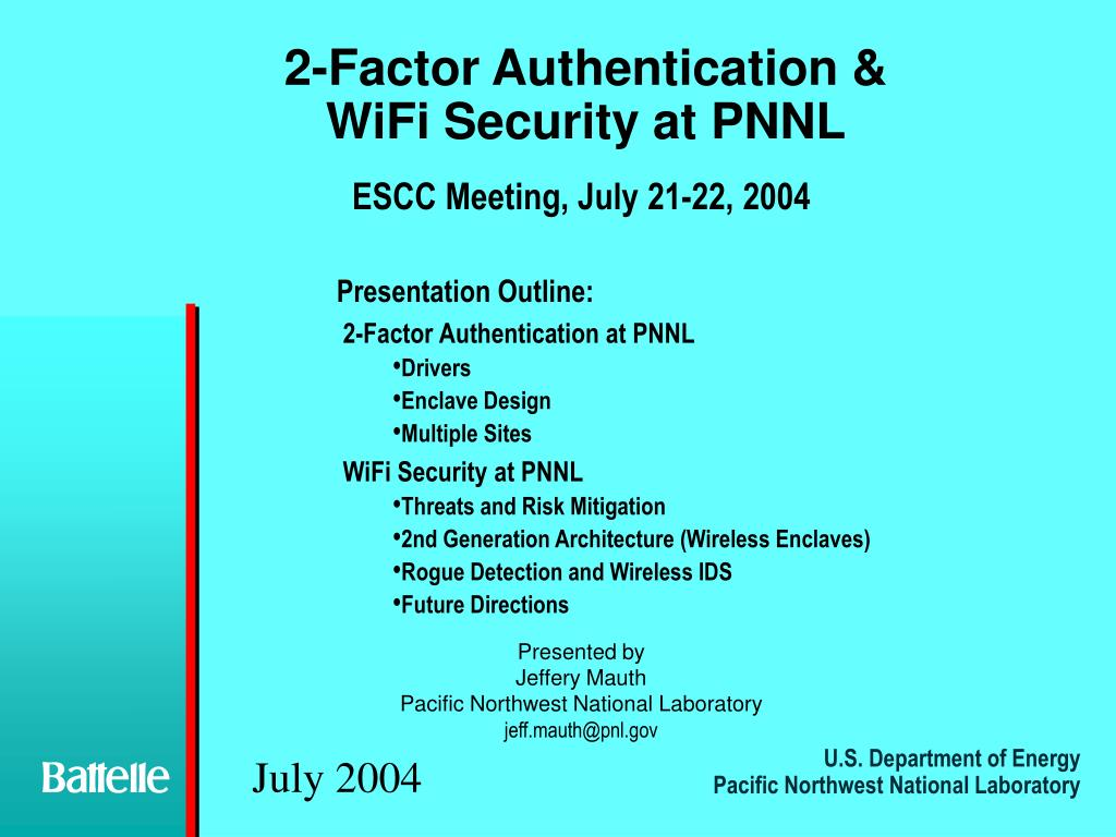 2-Factor Authentication &