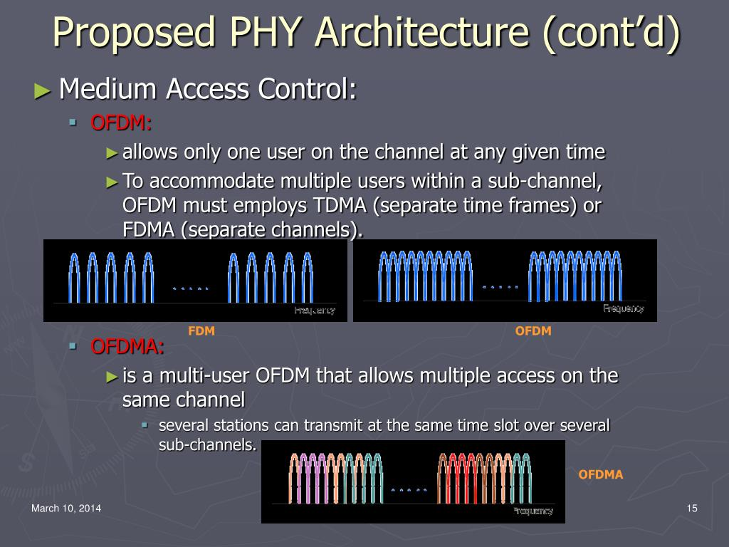 Proposed PHY Architecture (cont'd)