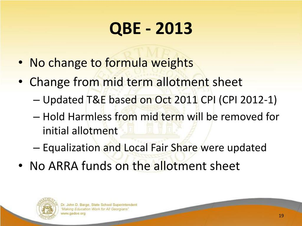 QBE - 2013
