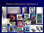 mobile information appliances