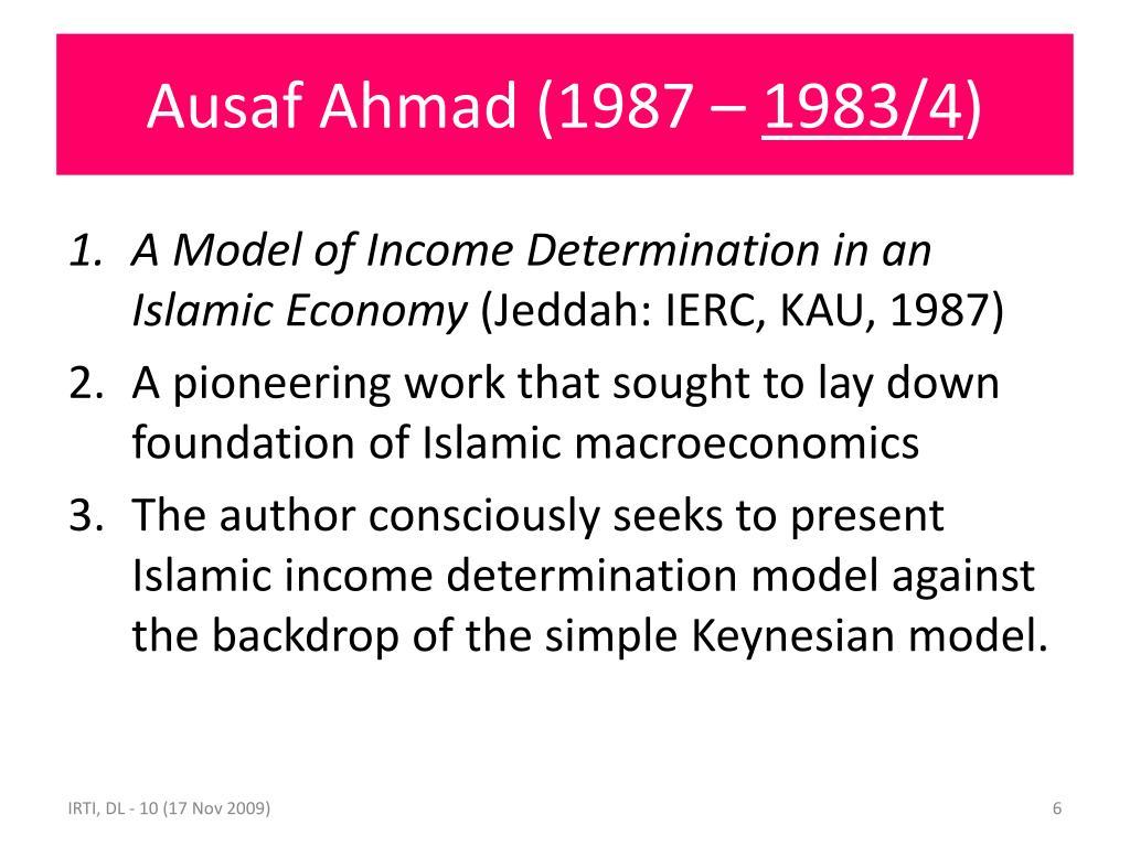 Ausaf Ahmad (1987 –