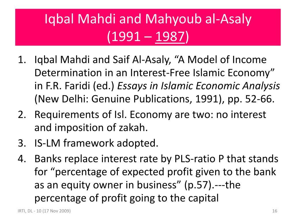 Iqbal Mahdi and Mahyoub al-Asaly
