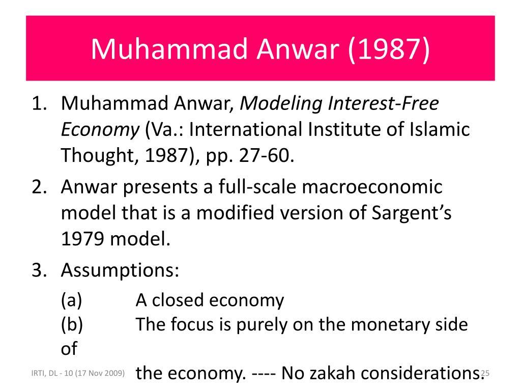 Muhammad Anwar (1987)