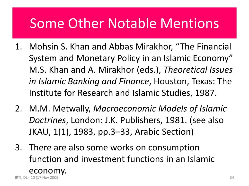 Some Other Notable Mentions