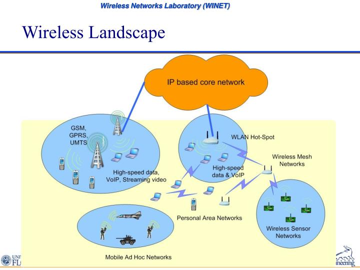 Wireless landscape