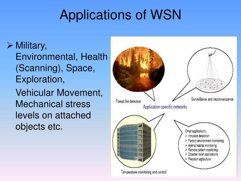 Applications of WSN