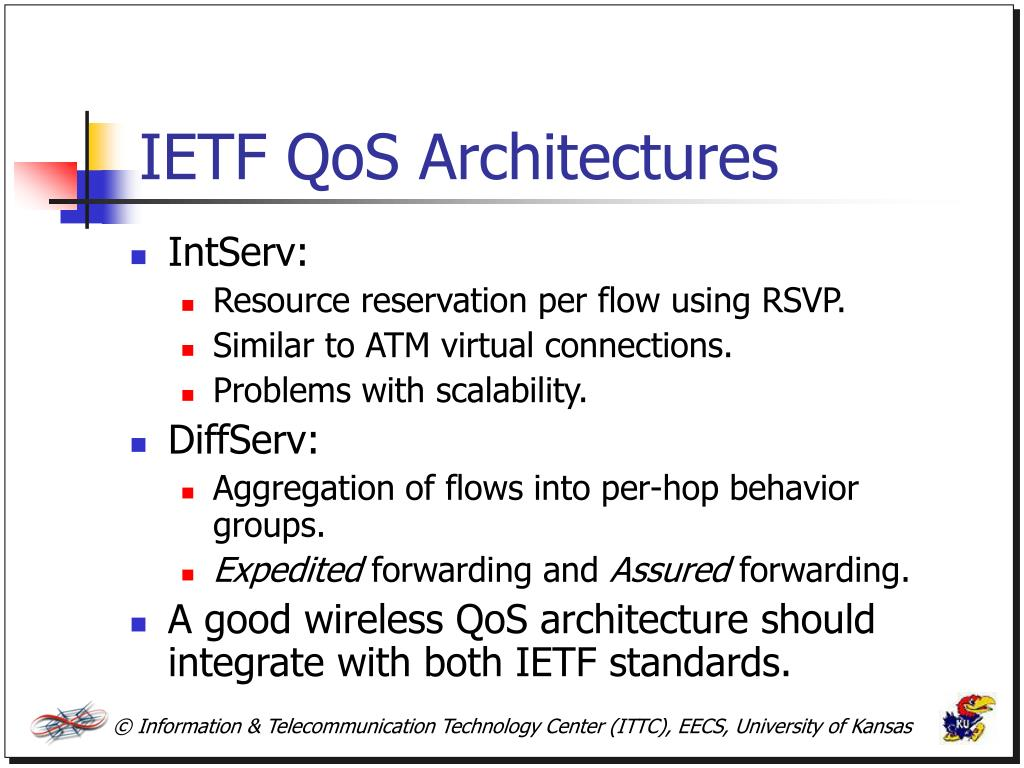 IETF QoS Architectures