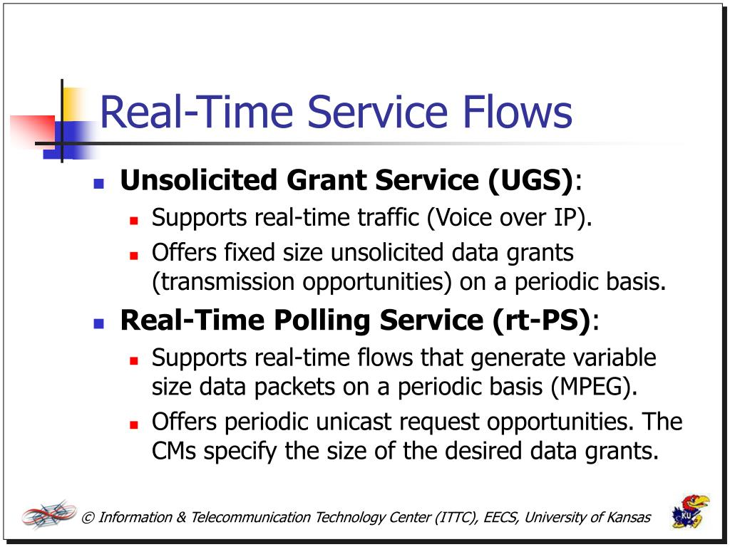 Real-Time Service Flows