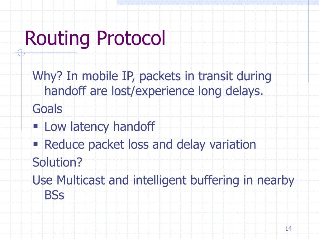 Routing Protocol