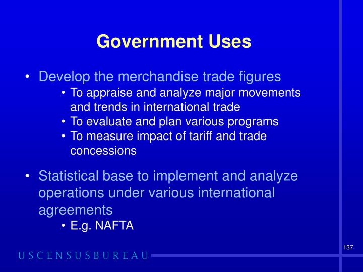 Government Uses