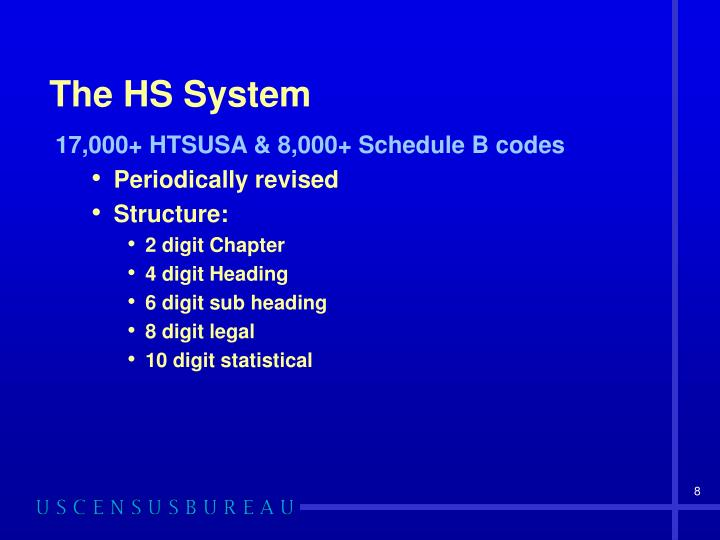 The HS System