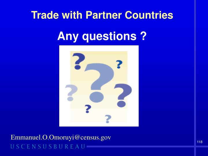 Trade with Partner Countries
