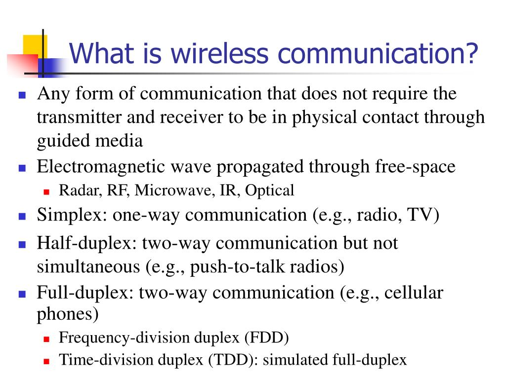 What is wireless