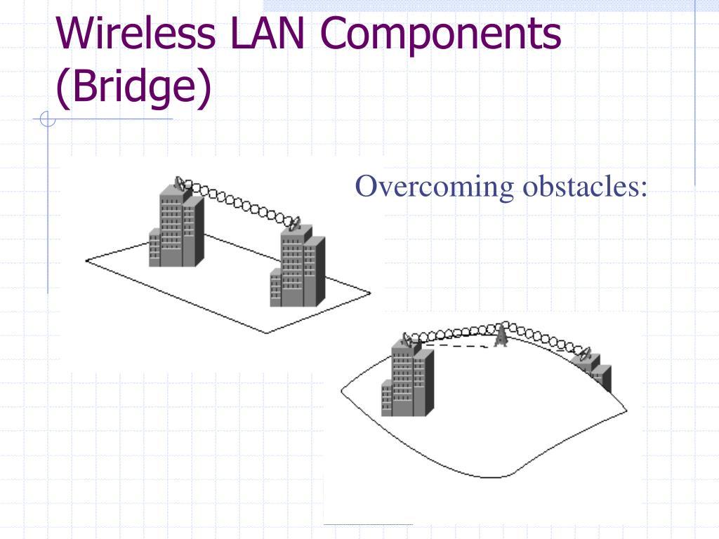 Wireless LAN Components (Bridge)