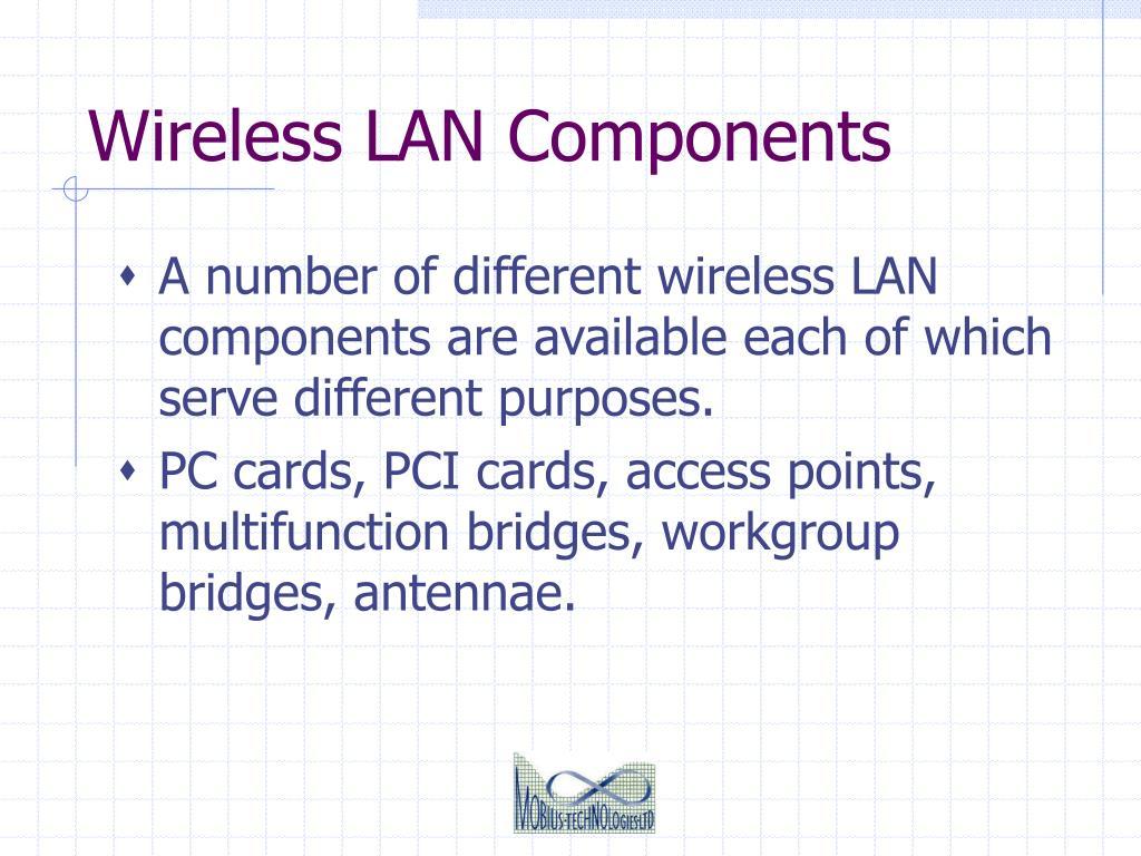 Wireless LAN Components