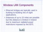 wireless lan components23