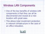 wireless lan components29