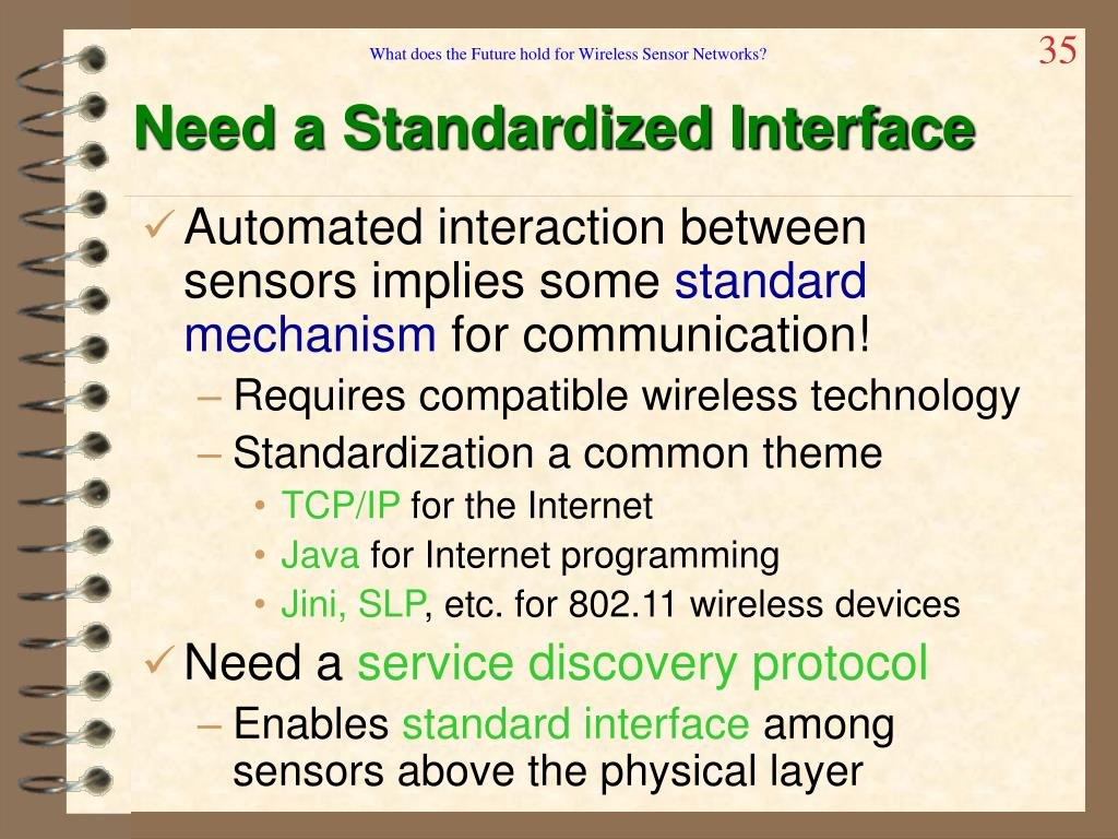 What does the Future hold for Wireless Sensor Networks?