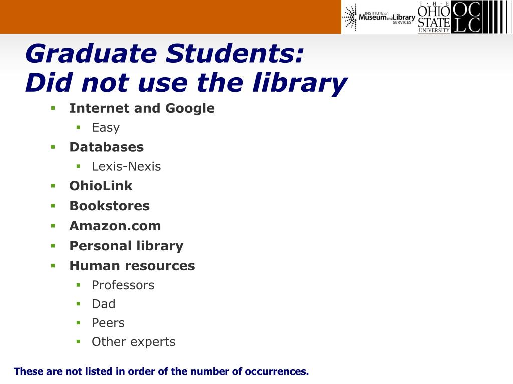 Graduate Students: