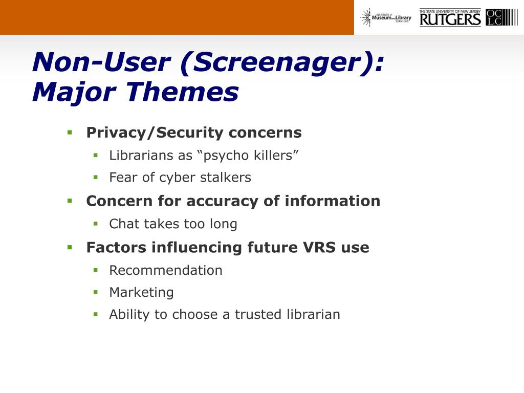 Non-User (Screenager):