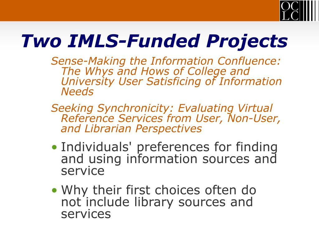 Two IMLS-Funded Projects