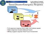 tiered disaster emergency response