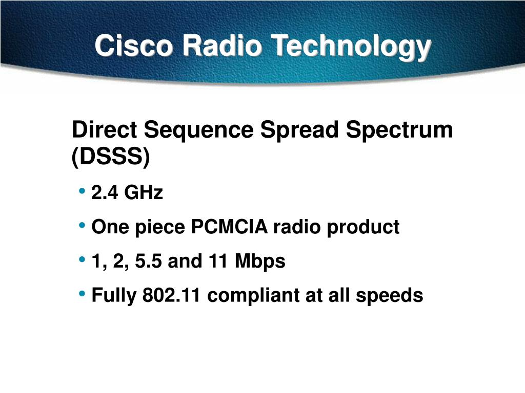 Cisco Radio Technology