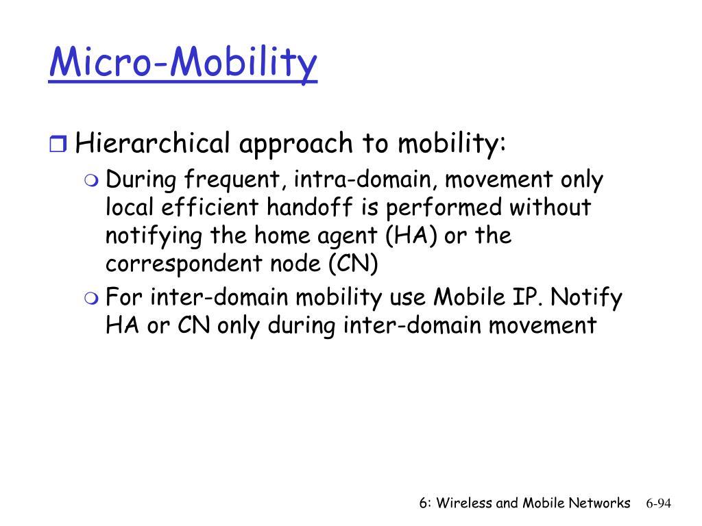 Micro-Mobility