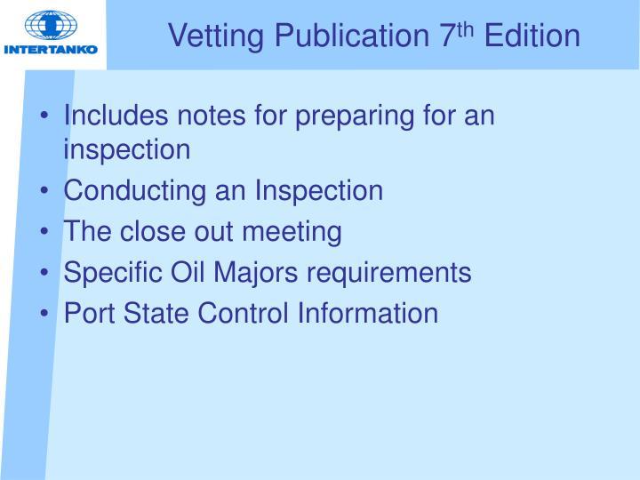 Vetting Publication 7