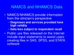 namcs and nhamcs data1