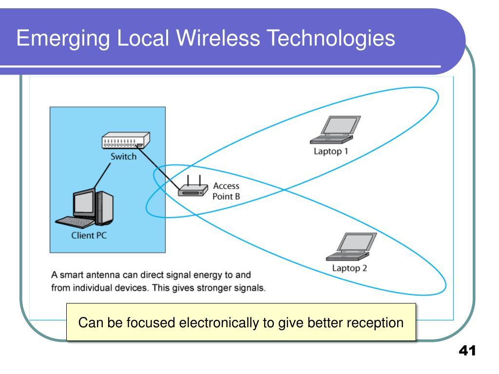 Emerging Local Wireless Technologies