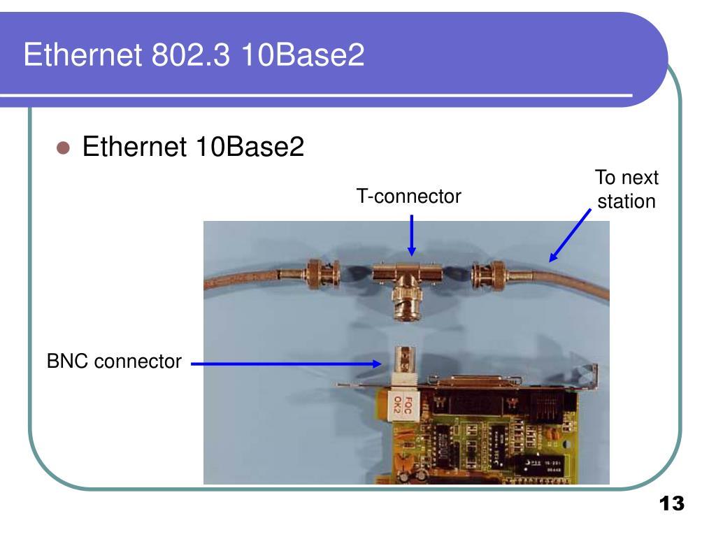 Ethernet 802.3 10Base2