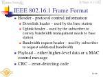 ieee 802 16 1 frame format49