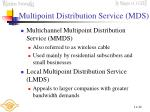 multipoint distribution service mds
