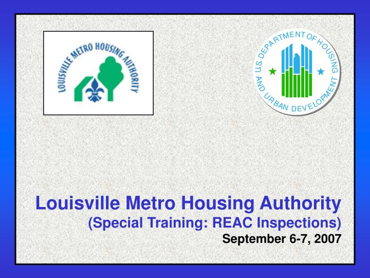 Louisville Metro Housing Authority