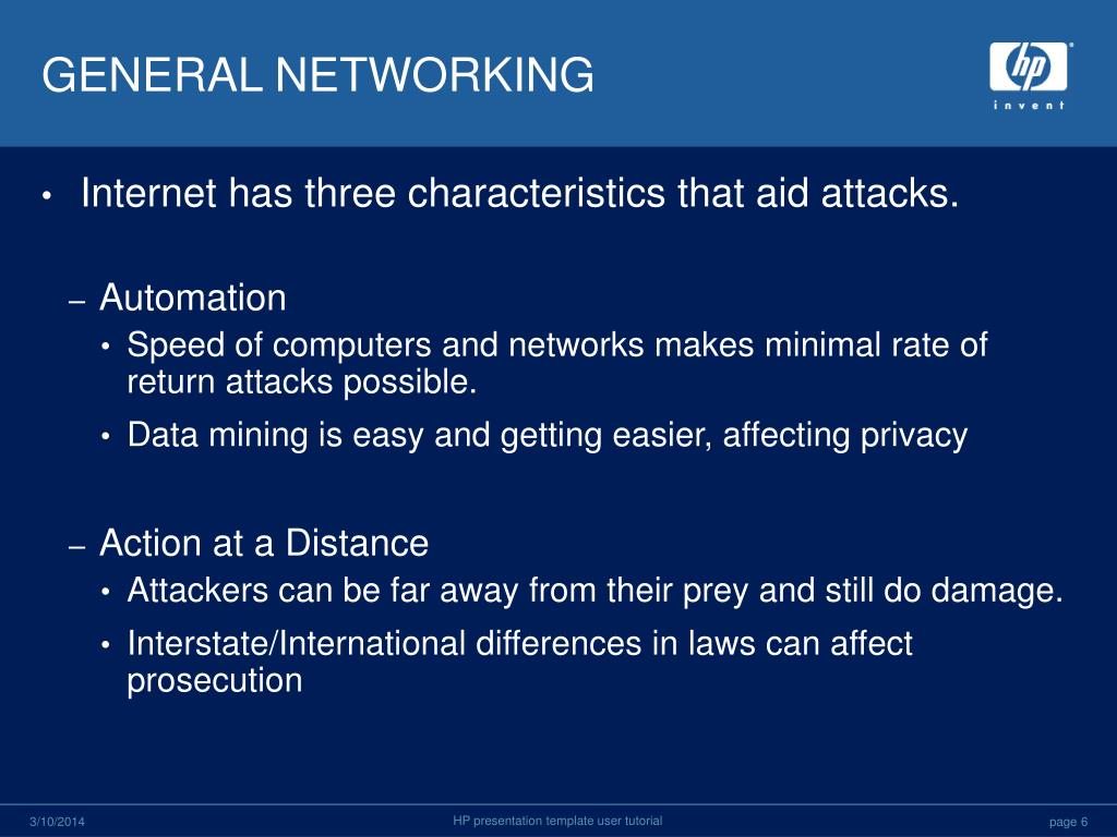 GENERAL NETWORKING