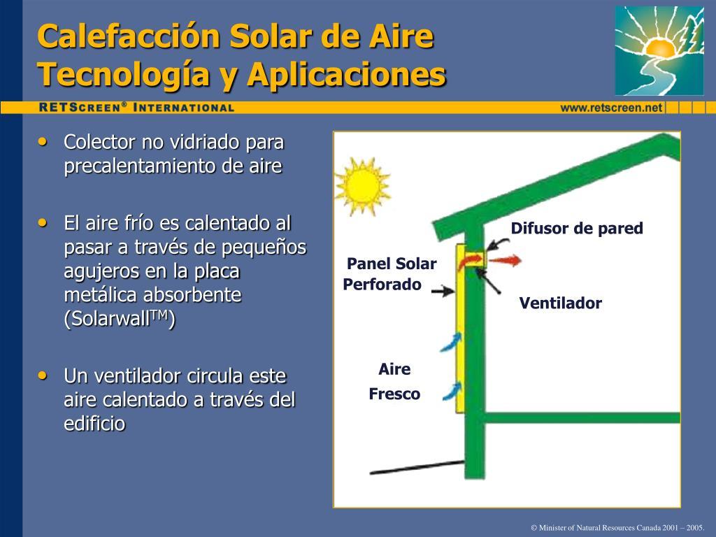 Calefacción Solar de Aire