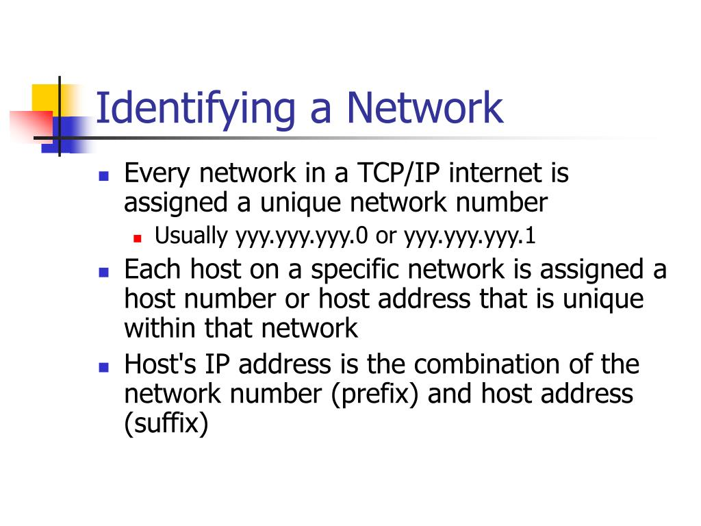 Identifying a Network