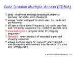 code division multiple access cdma135