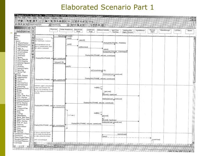 Elaborated Scenario Part 1