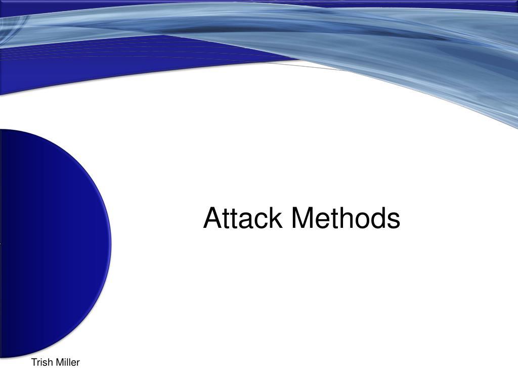 Attack Methods