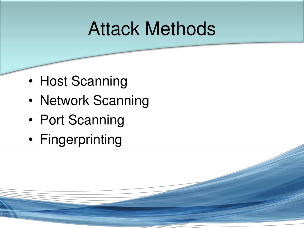 Attack Methods