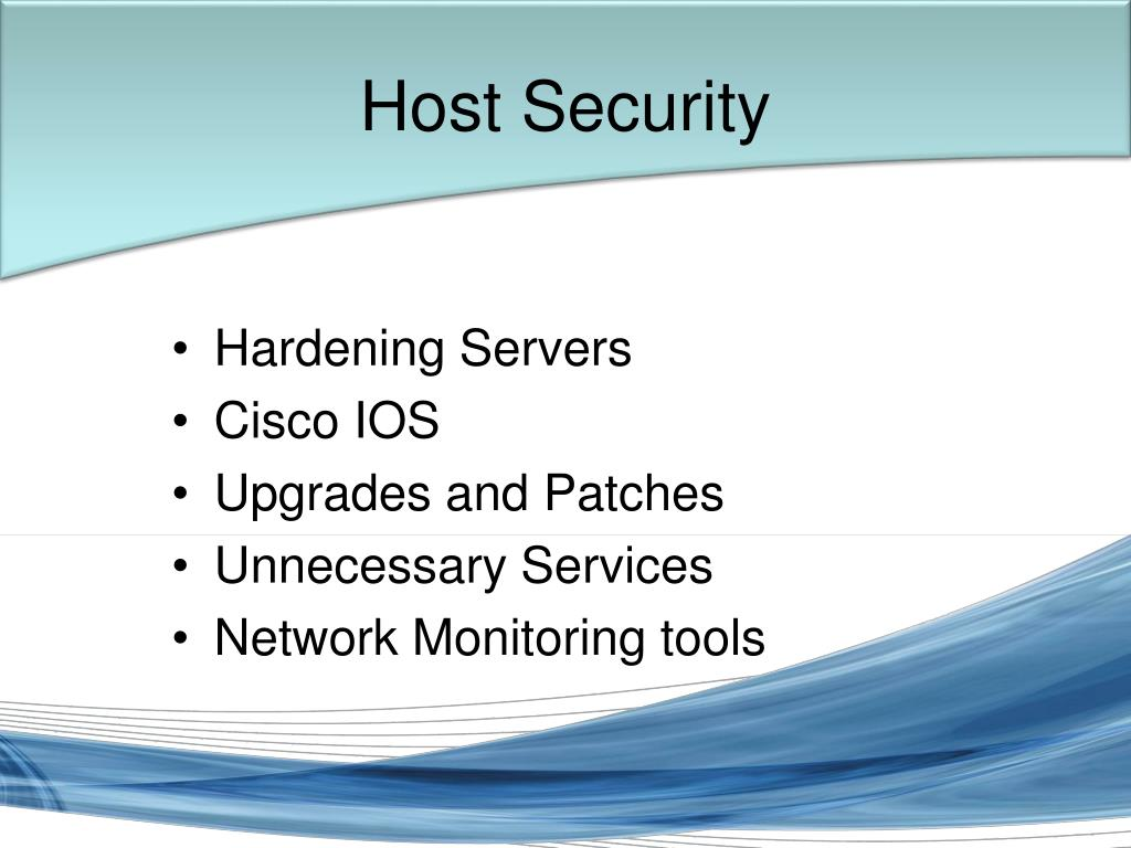 Host Security