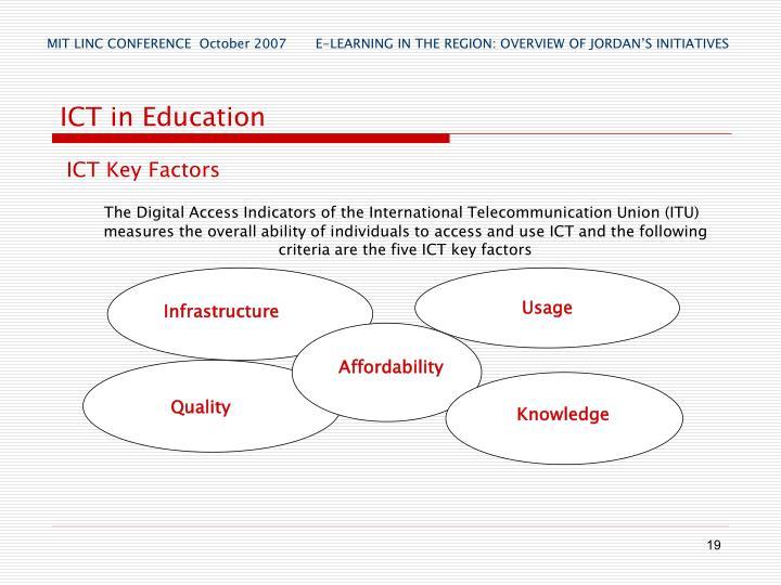 ICT Key Factors