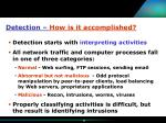 detection how is it accomplished10