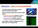detection how is it accomplished11